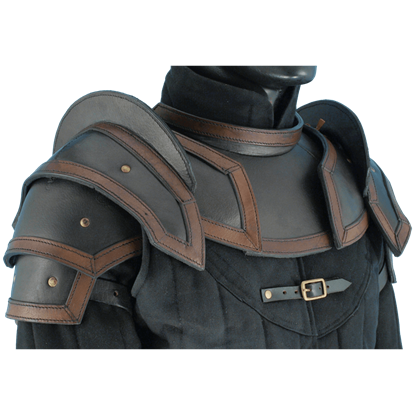 Shoulder Armour with Neck Guard