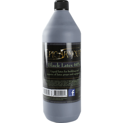 Black Liquid Latex - 1000ml