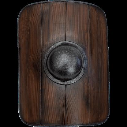 Woodgrain Gladiator LARP Shield