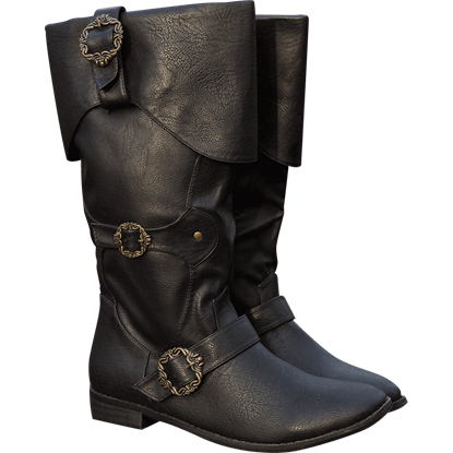 Ornate Buccaneer Boots