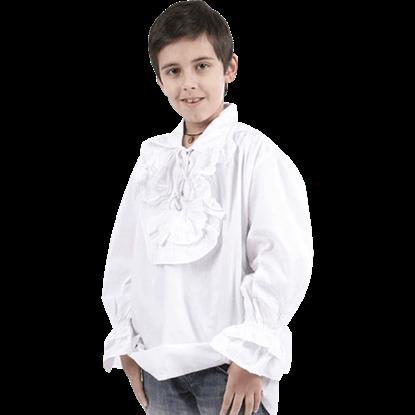 Boys Ruffled Renaissance Shirt