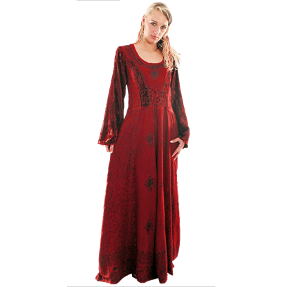 Long Sleeved New Age Dress