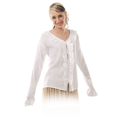 Ladies Ruffled Blouse