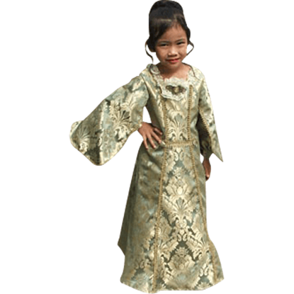 Childs Baroque Renaissance Gown