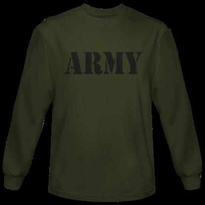 Green Army Long Sleeve T-Shirt