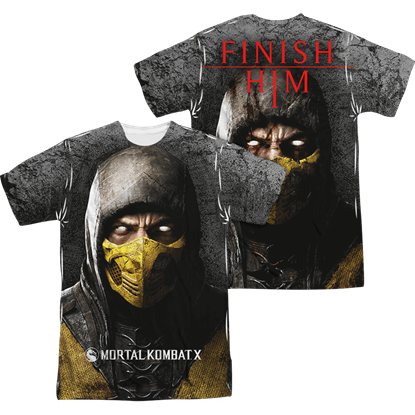 Mortal Kombat X Finish Him T-Shirt