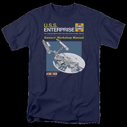 Star Trek Enterprise Manual T-Shirt