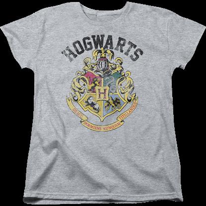 Harry Potter Hogwarts Crest Womens T-Shirt