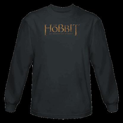 Distressed Logo Long Sleeved T-Shirt