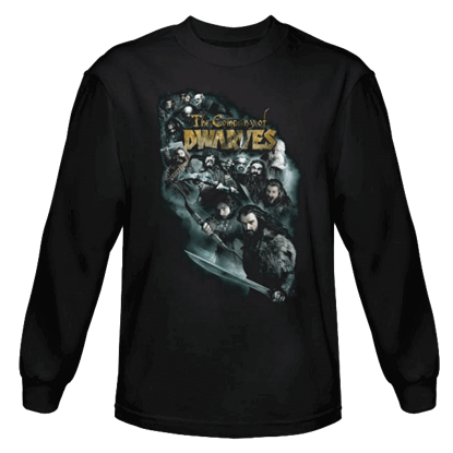 Company Of Dwarves Long Sleeved T-Shirt