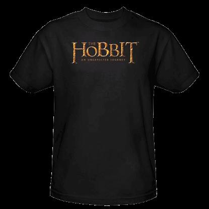 Black Hobbit Logo T-Shirt