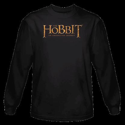 Black Hobbit Logo Long Sleeved T-Shirt
