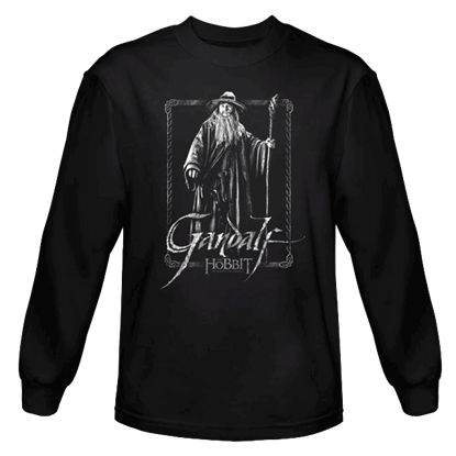 Gandalf Stare Long Sleeved T-Shirt