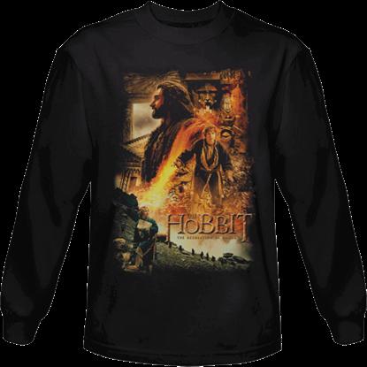 Golden Chambers Hobbit Long Sleeved T-Shirt