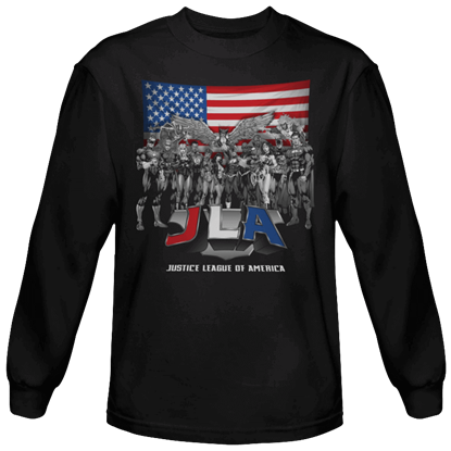 All American League Long Sleeved T-Shirt