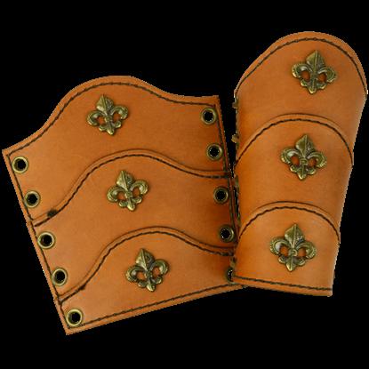 Childrens Medieval Arm Bracers