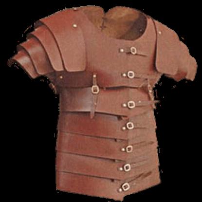 Leather Lorica Segmentata - 13/15 oz.