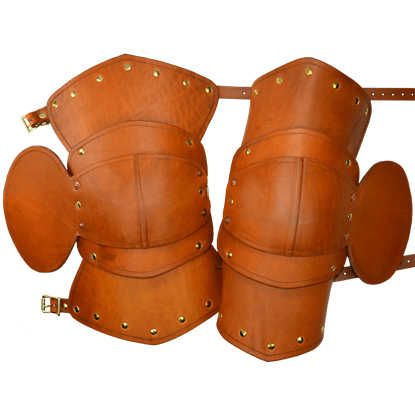 Fighter 1/2 Leather Leg Armour