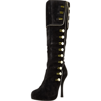 Captain Elda Buttoned Boots