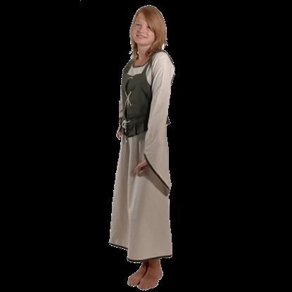 Girls Medieval Peasant Dress