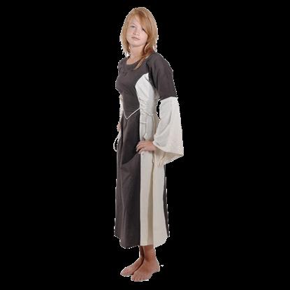 Girls Medieval Maiden Dress