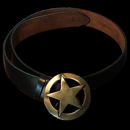 Star Buckle Belt