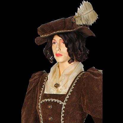 Antique Velvet Hat