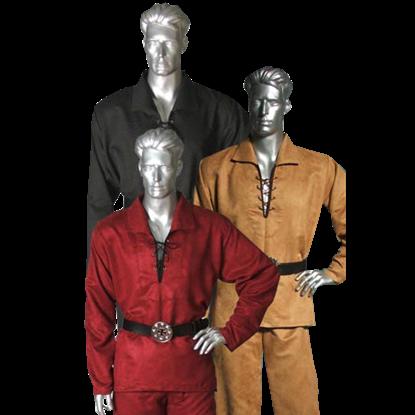 Buccaneer Suede Shirt