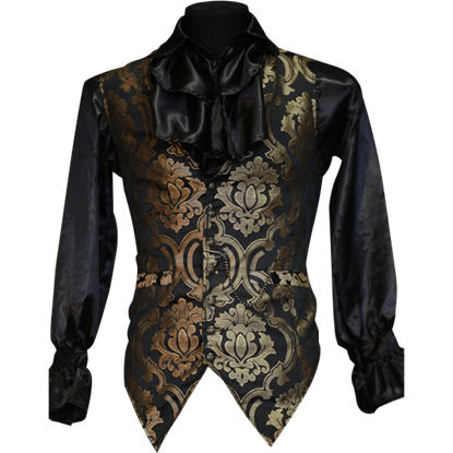 Gothic Gold Brocade Waistcoat