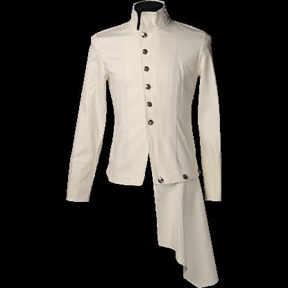 Cream Steampunk Officer Shirt