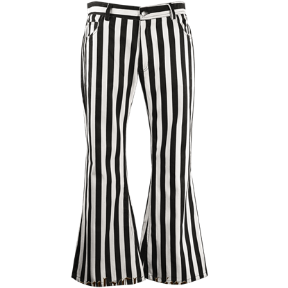 Gothic Striped Pants