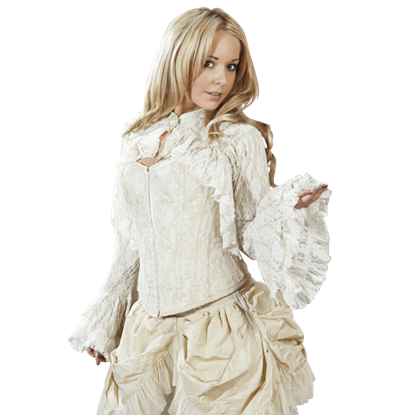 Dita Cream Lace Bolero Shrug