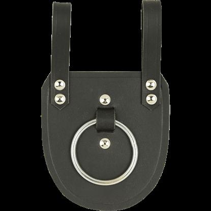 Leather Axe Holder - Black