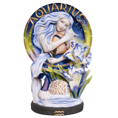 Aquarius Statue by Jody Bergsma