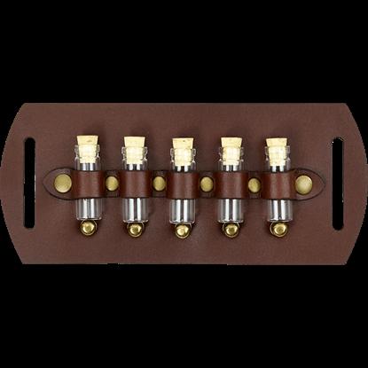 Five Bottle Steampunk Belt Slide