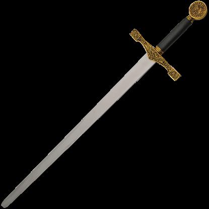 Gold Excalibur Sword of King Arthur