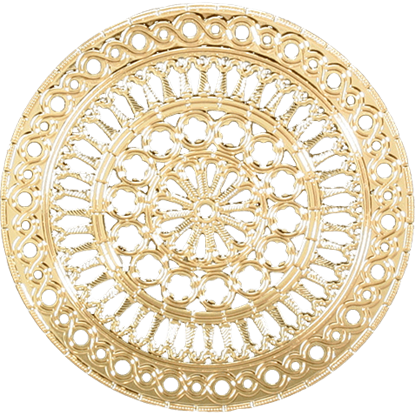 Assassi Cathedral Rose Window Ornament