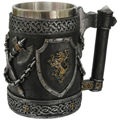 Axe and Shield Tankard