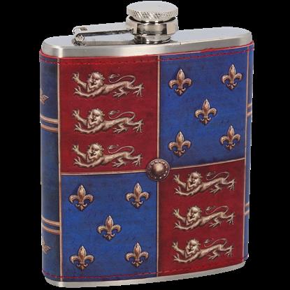 Medieval Shield Hip Flask