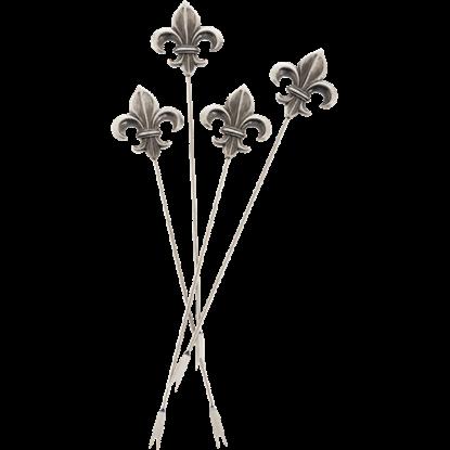 Fleur-de-Lis Appetizer Picks