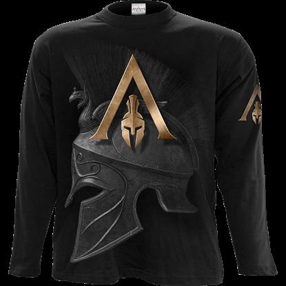 Assassins Creed Odyssey Alexios Armour Long Sleeve T-Shirt