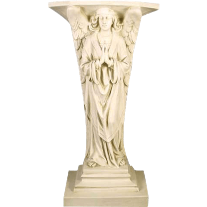 Devotion Angel Prayer Pedestal