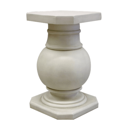 Ball Pediment Pedestal