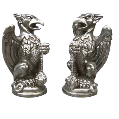 Griffin Candleholder Set