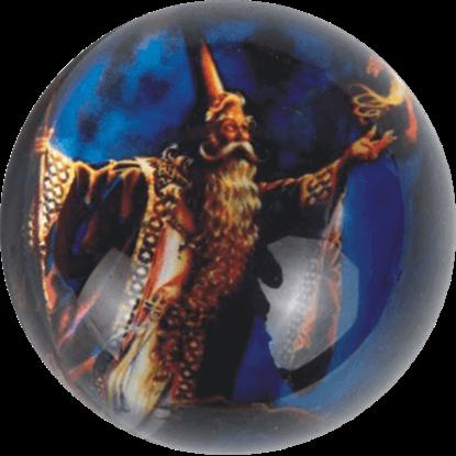Wizard Night Paperweight