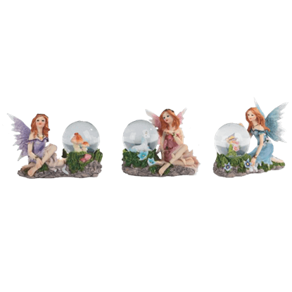 Fairy Snow Globe Trio