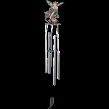 Woodland Dragon Fairy Wind Chime