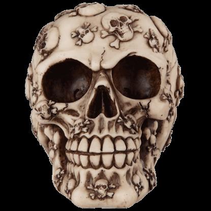 Tattooed Buccaneer Skull