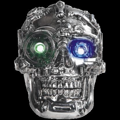 LED Shiny Steampunk Skull Trinket Box