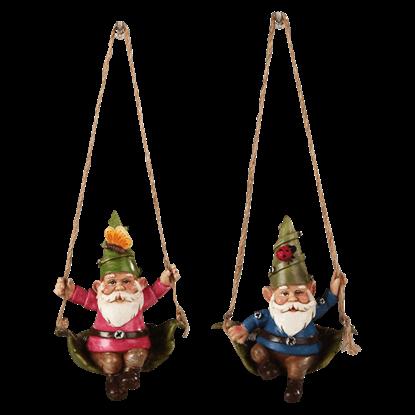 Gnome Ornament Set